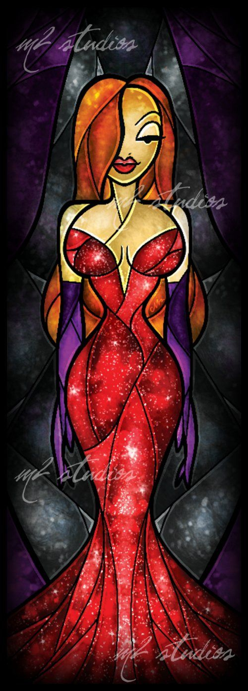 Delicious Cartoon Stained Glass-Styled Art Illustrations by Mandie Manzano