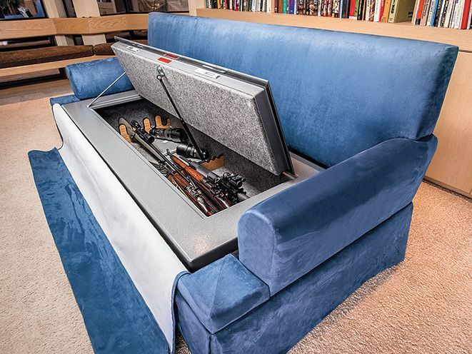Why is hidden compartment furniture a great idea? Well, whether your preferred home defense weapon is a rifle, shotgun or handgun, you probably don't want to mount it on your wall as a trophy or leave it out in the… Continue Reading →