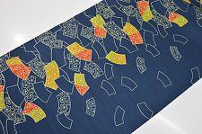 UN-USED JINKEN KIMONO BOLT:Autumn Leaf/Plum Blossom/Folding Fan@q03