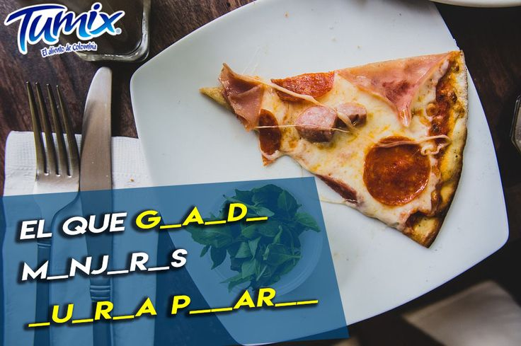 ¿Puedes completar el dicho? :D   #Frases #Colombia #Pizza #SerFrescoEsSerColombiano
