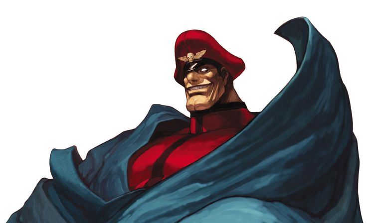 M.Bison (Or Vega for Japanese Version). Street Fighter