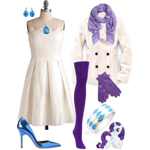 Rarity Inspired Outfit