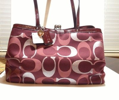 New Coach bag. It can go with everything. Coach bags outlet. Coach Purse Bags