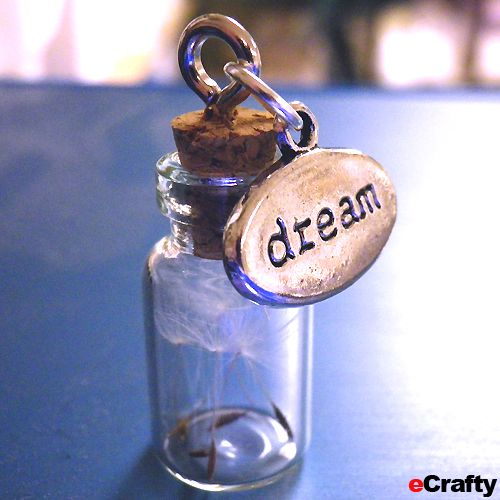 pics of miniature bottle charms | Fun DIYs with our Fillable Ornaments, Bottles & Charms! | DIY ...