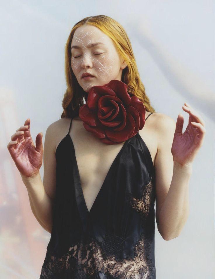 Publication: Vogue UK August 2017 Model: Devon Aoki Photographer: Harley Weir Fashion Editor: Francesca Burns Hair: Holli Smith Make Up: Thomas de Kluyver PART I