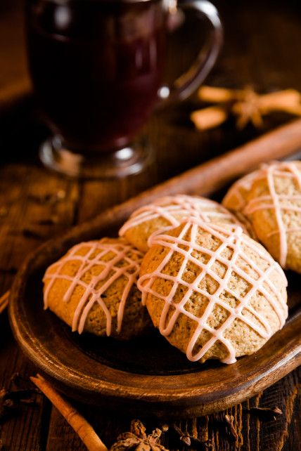 Mulled Wine Cookies for cool winter nights