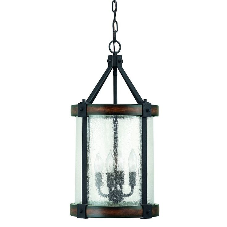 Foyer Chandeliers Canada : Shop kichler lighting light wood foyer pendant at lowe s