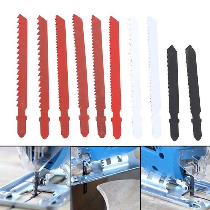 Bosch 8pcs Multi purpose Jigsaw Blade Set for Wood Metal Plastic Cutting