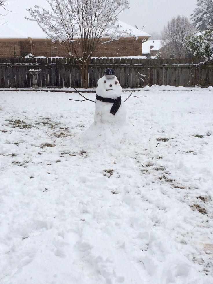 Mr Cowboys Snowman