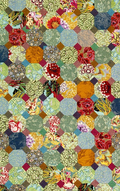 Snowball Quilt workshop by Kaffe Fassett and Brandon Mably,   Saturday 4 May 2013 / 9am–5pm. Fashion and Textile Museum (London)