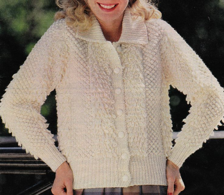 7 best images about Loopy Vintage Knitting Patterns on Pinterest Coats, Lad...