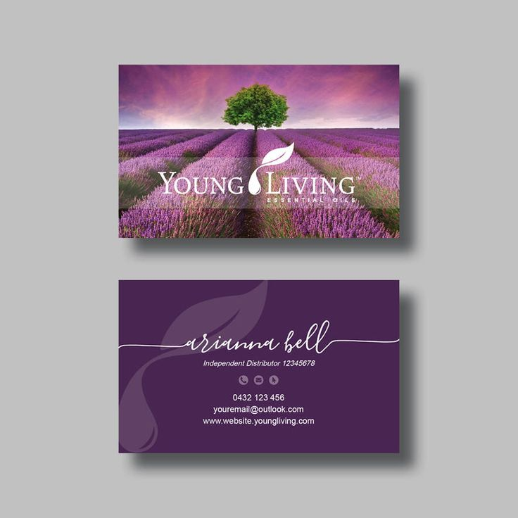 14 best young living essential oils images on pinterest au young living essential oils business card sunset digital design colourmoves
