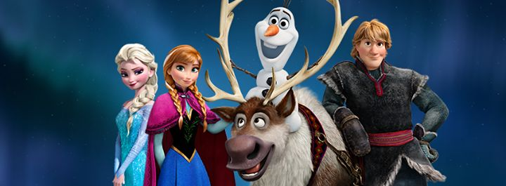 The #FrozenNorthernLights are worth searching for! Join Anna, Elsa, Olaf, Kristoff, and Sven on the adventure. #FROZEN #ELSA #ANNA #OLAF #KRISTOFF