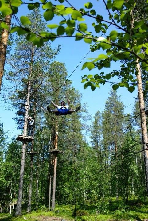 Activity Park Levi, Lapland Finland  - here you can break your limits!