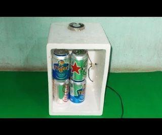 Homemade Mini Usb Fridge Diy Frefrigerator Chiller Air