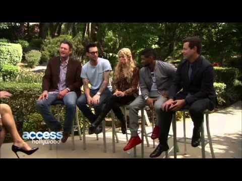 The Voice- Is Adam Levine Jealous Of Blake Shelton & Usher's Bromance-