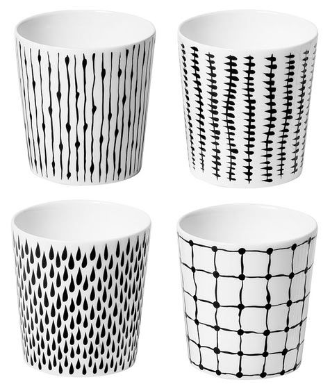 Always wanted these. bono mug set by catharina kippel from design house stockholm.