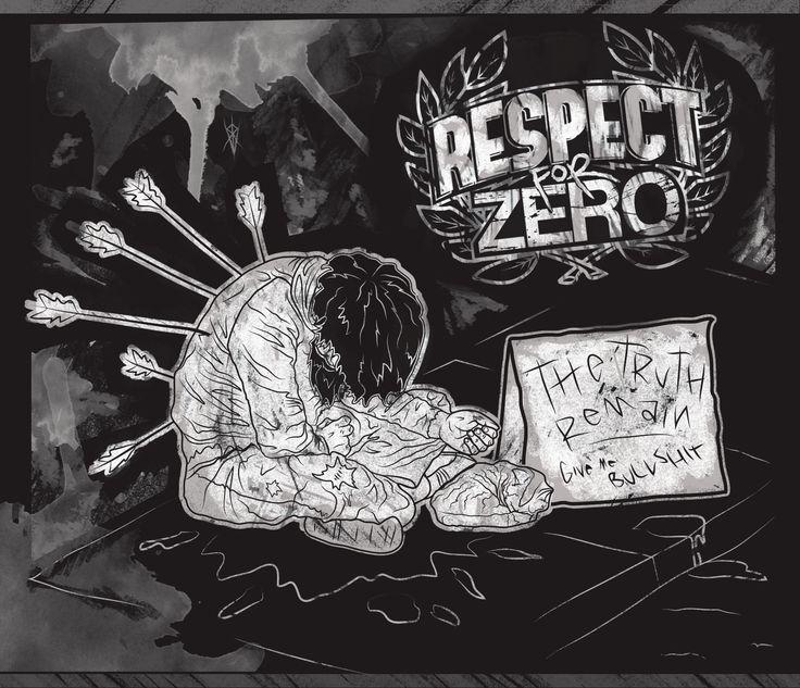 Respect For Zero  Hardcore Band  Illustrazione di Edoardo Perazzini IROVM
