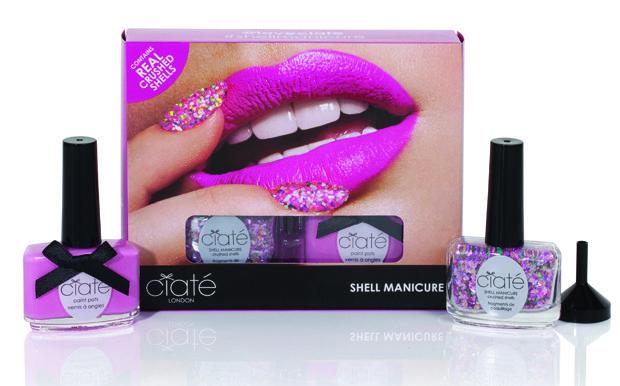#Ciate, collezione smalti estate per unghie da sirenetta con Shell Manicure Kit   @ciatelondon