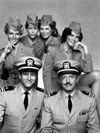 Operation peticoat / Roze onderzeeër. Een zeer leuke luchtige serie eind jaren 70.