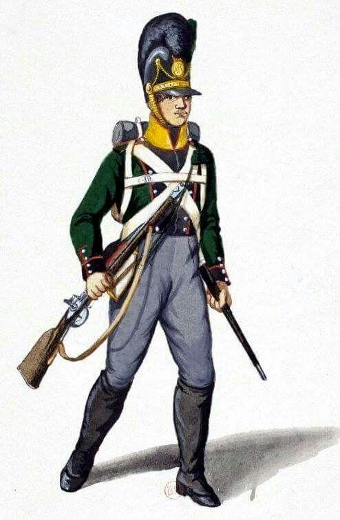 5th or 6th Light Infantry Bavarian Napoleonic Uniforms Pinterest Lights