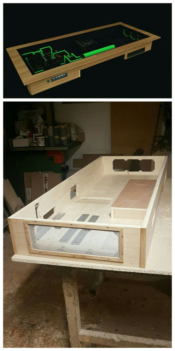 stepping up to a custom pc desk with custom upper pic is a draft