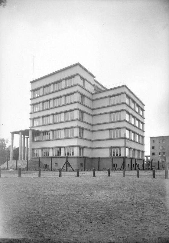 Dom Legionisty im. Marszałka Józefa Piłsudskiego w Krakowie, lata 1934-1936, proj. Adolf Szyszko Bohusz, Narodowe Archiwum Cyfrowe (źródło: materiały prasowe organizatora)