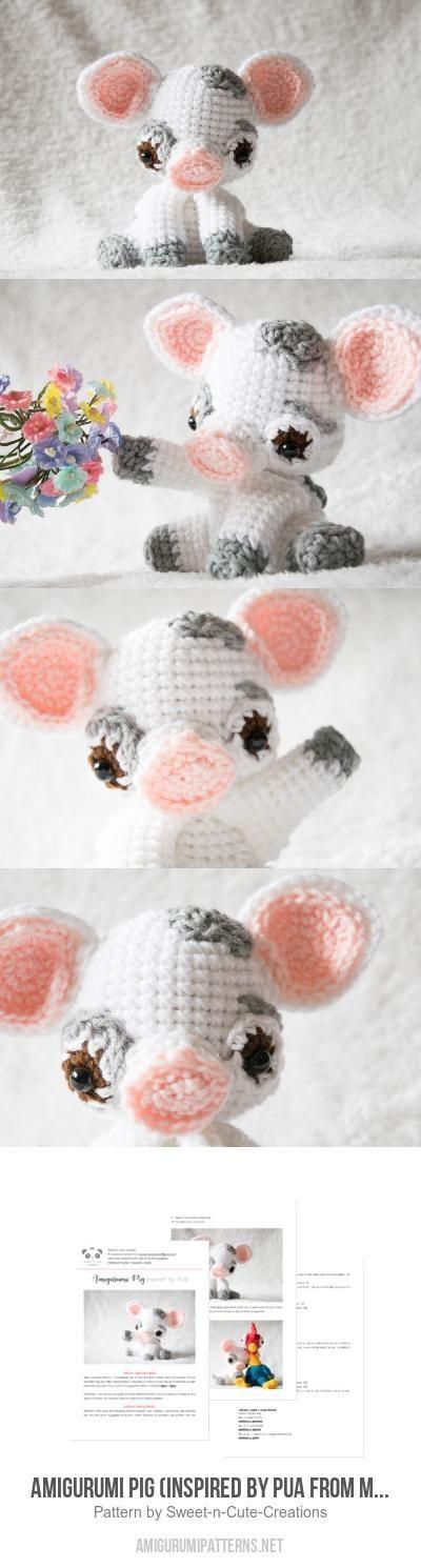 Pua Piglet Amigurumi Pattern