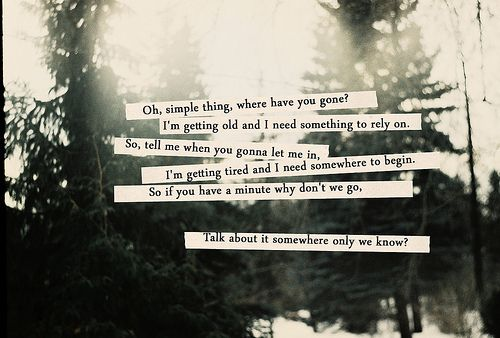 I love this song.: Keane Lyrics, Somewh On We Know Keane, Somewh On We Know Quotes, Favorite Songs, Songs Lyrics, Favorite Singing, Keane Quotes, Somewh On We Know Lyrics, Fave Songss