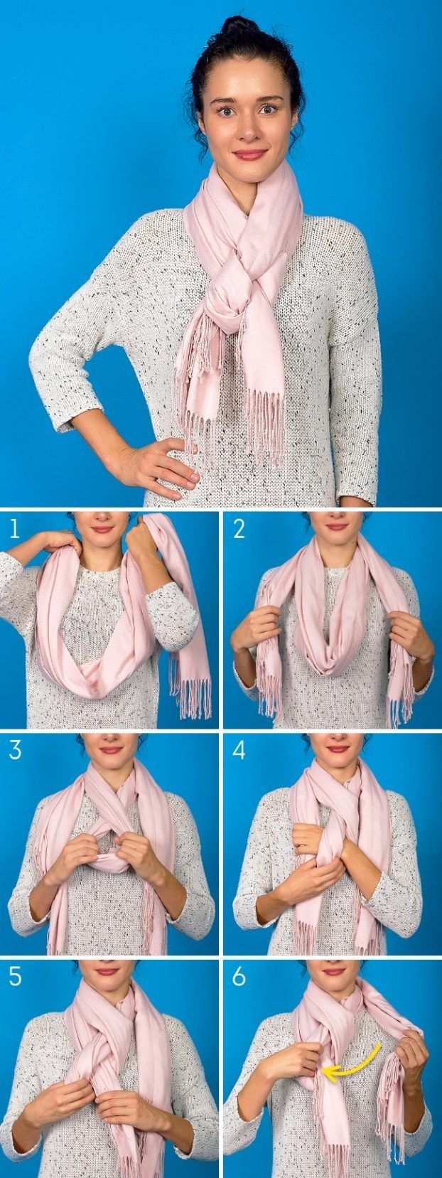 8 innovative Arten, den Schal im kalten Winter zu tragen… – Birgit