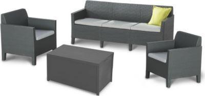 Best Freizeitmöbel Lounge-Gruppe Amalfi 4-teilig groß Jetzt bestellen unter: https://moebel.ladendirekt.de/garten/gartenmoebel/loungemoebel-garten/?uid=e0c54ad2-dd8f-568d-84a4-fd4268ba0295&utm_source=pinterest&utm_medium=pin&utm_campaign=boards #loungemoebelgarten #garten #gartenmoebel