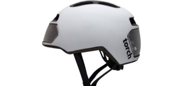 Torch T2 велосипедный шлем с интегрированными светодиодами