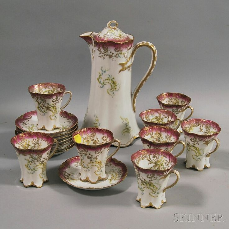 Limoges Hot Chocolate Set