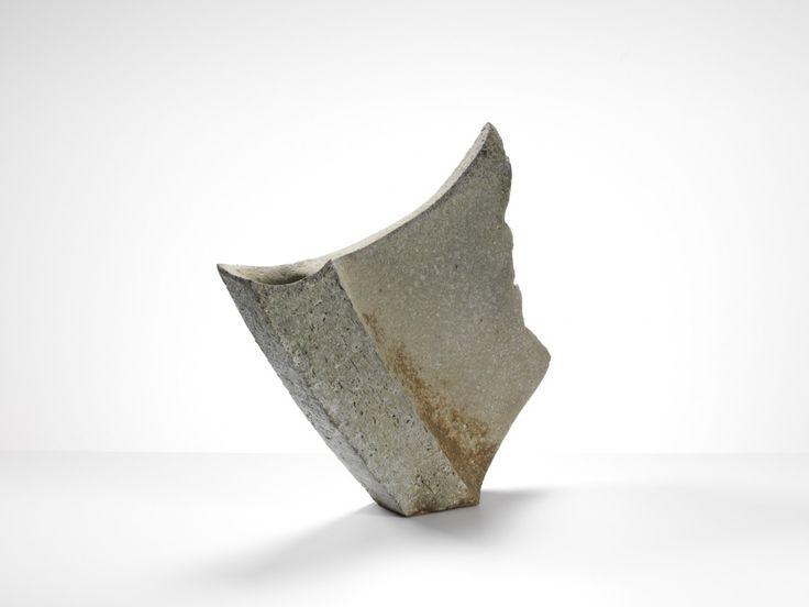 Yasuhisa Kohyama - Kaze, 2014 / anagama fired stoneware (39x38x10cm)