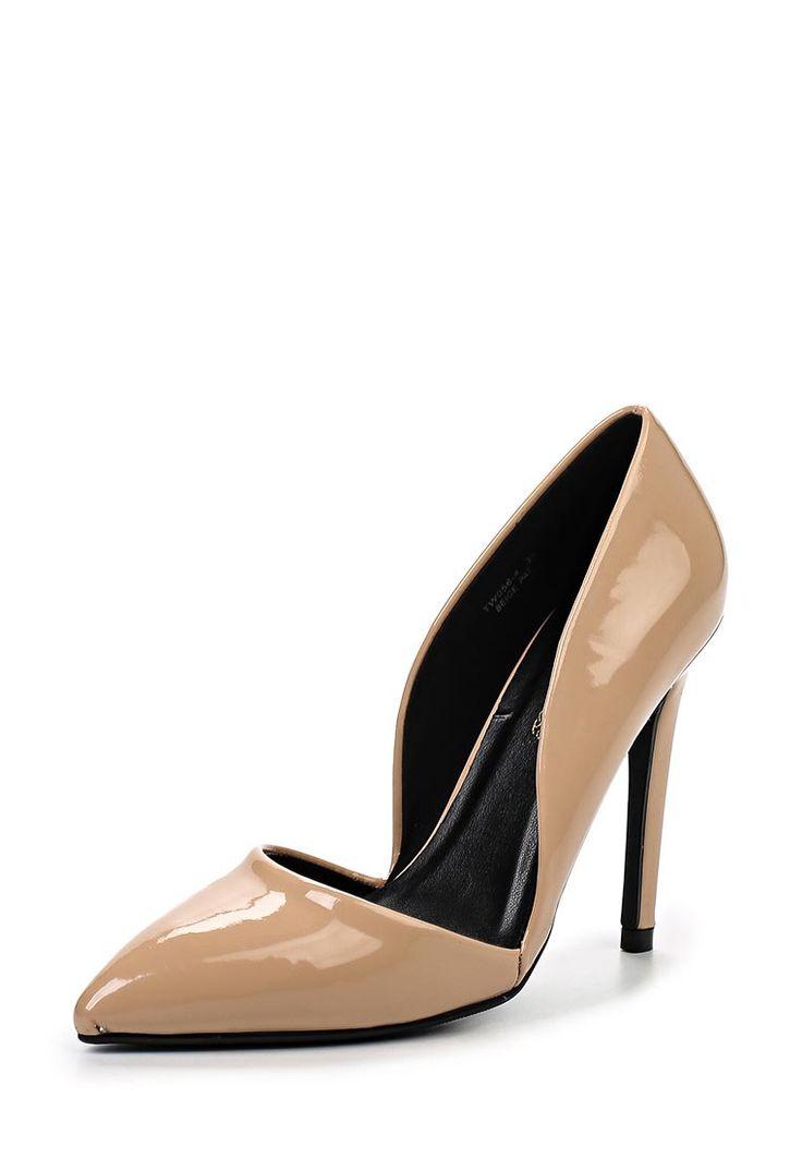 Туфли Sweet Shoes выполнены из искусственной лаковой кожи. Детали: заостренный мыс, открытые боковые