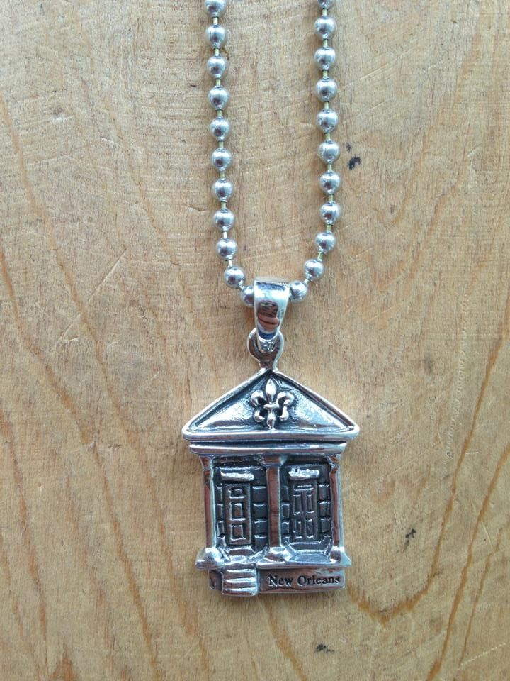 Fleurty Girl - Everything New Orleans - New Orleans Shotgun Necklace - Jewelry - Footwear & Accessories