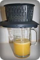 3 oranges 300 g d'eau facultatif 1 c. à soupe de sirop d'agave ou 30 g de sucre Mettre les oranges épluchées et coupées en deux ou en quatre dans le bol. Ajouter l'eau et le sucre…