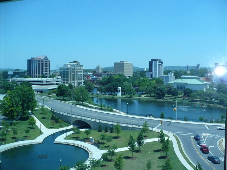 Huntsville, 2nd largest metropolitan area in Alabama