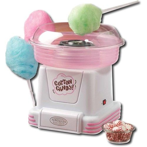 Spin your favourite sugar or sugar free hard candy into delicious cotton candy at home with this cotton candy maker! Find it at Best Buy.