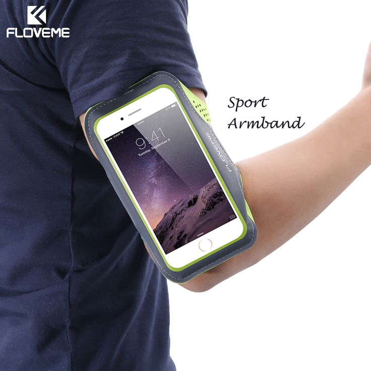 FLOVEME Waterproof Sports Running Arm Band Case For iPhone 6 6S 7 4.7 inch For iPhone 6 6S 7 Plus Workout PU Leather Phone Cover