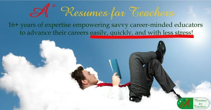A+ Resumes for Teachers Are your teacher resume and cover letter generating interviews?A+ Resumes for Teachers Are your teacher resume and cover letter generating interviews? Resume writing service for teachers and other educators with 16 years of experience helping teachers, school administrators, and college professors move their careers forward.