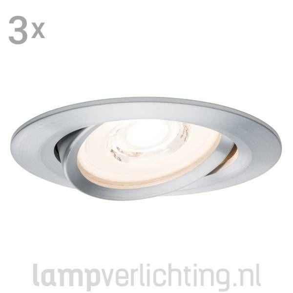 3 Dimbare LED Inbouwspots 230V Reflector. - Direct aansluiten op 230V - Geen trafo nodig - Dimmen  #plafondspot #ledspot #ledverlichting #led