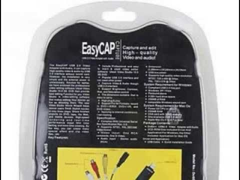 http://trendsexplorers.blogspot.com/2013/08/easycap-usb-20-audiovideo.html EasyCAP USB 2.0 Audio(Video) Capture(Surveillance) Dongle with Mac OS Su...