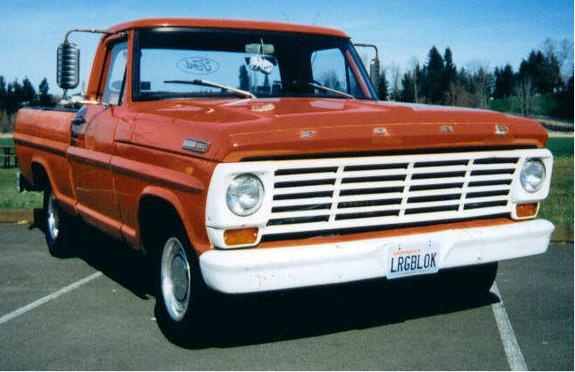 47 Best Images About Ford F100 On Pinterest