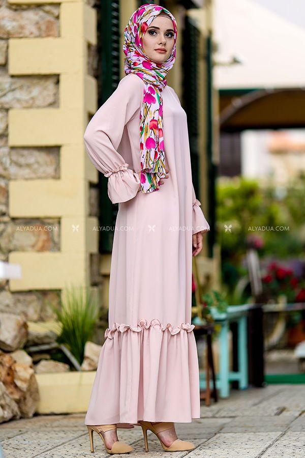 b1349f74e679a Alyadua Günlük Tesettür Elbise Kombinleri - Moda Tesettür Giyim ...