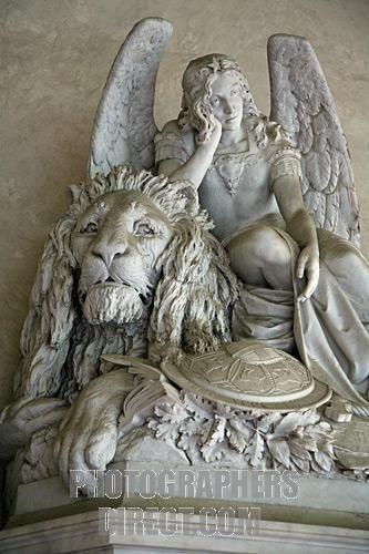 angel sculpture by michelangelo...