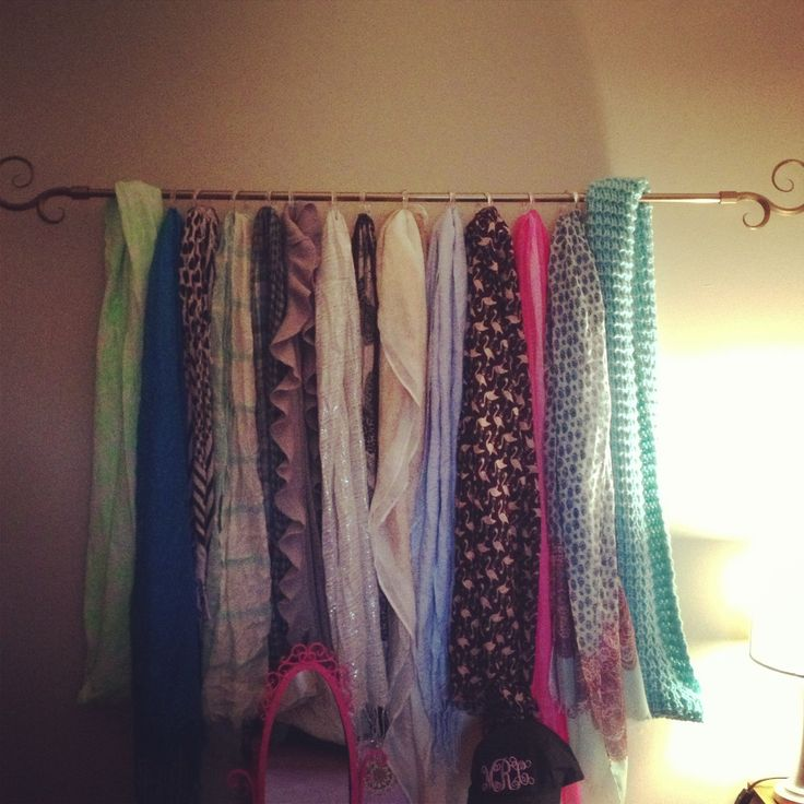 19 Best Images About Scarf Display On Pinterest Fashion