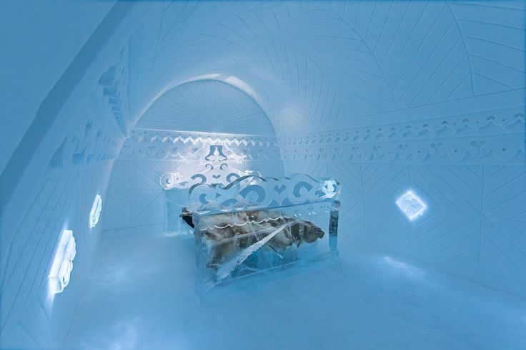 Ice Hotel, but it may not be open if we go in Sept.
