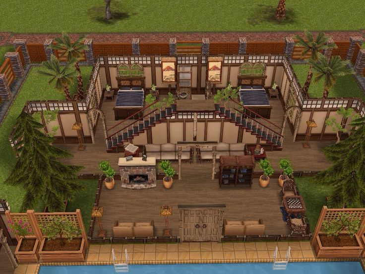 62 best Sims FreePlay images on Pinterest | House design, House ...