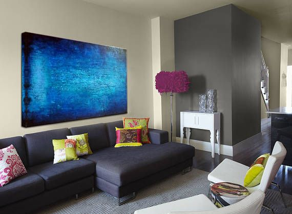 Oil Artwork Painting Large Painting Art Xxl large Painting